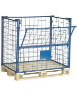 Gitterrahmen für Paletten H1000 mm. Blau