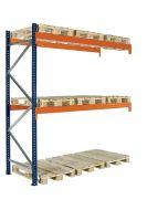 Palettenregal Zusatzfach. H4000 x L2725 x T1100 mm / 1500 kg