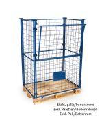 Gitterrahmen für Paletten H1600 mm. Blau