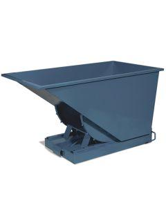 Kippcontainer offen. 600 Liter. RAL5019 Capri blue