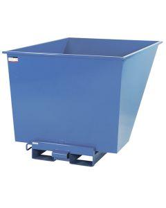 Kippcontainer offen. 1100 Liter. RAL5019 Capri blue