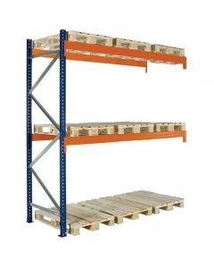 Palettenregal Zusatzfach. H2500 x L2725 x T1100 mm / 3000 kg