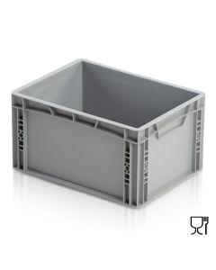 1/8 Euro-behälter H220 mm. Grau
