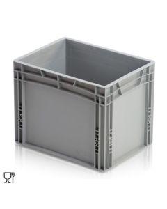1/8 Euro-behälter H320 mm. Grau