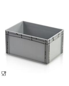 1/4 Palettenkiste H320 mm. Grau