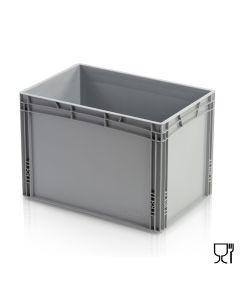 1/4 Euro-behälter H420 mm. Grau