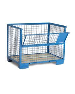 Gitterbox DB. Blau lackiert